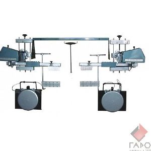 Стенд сход развал оптический (до 18 дюймов) СКО-1М